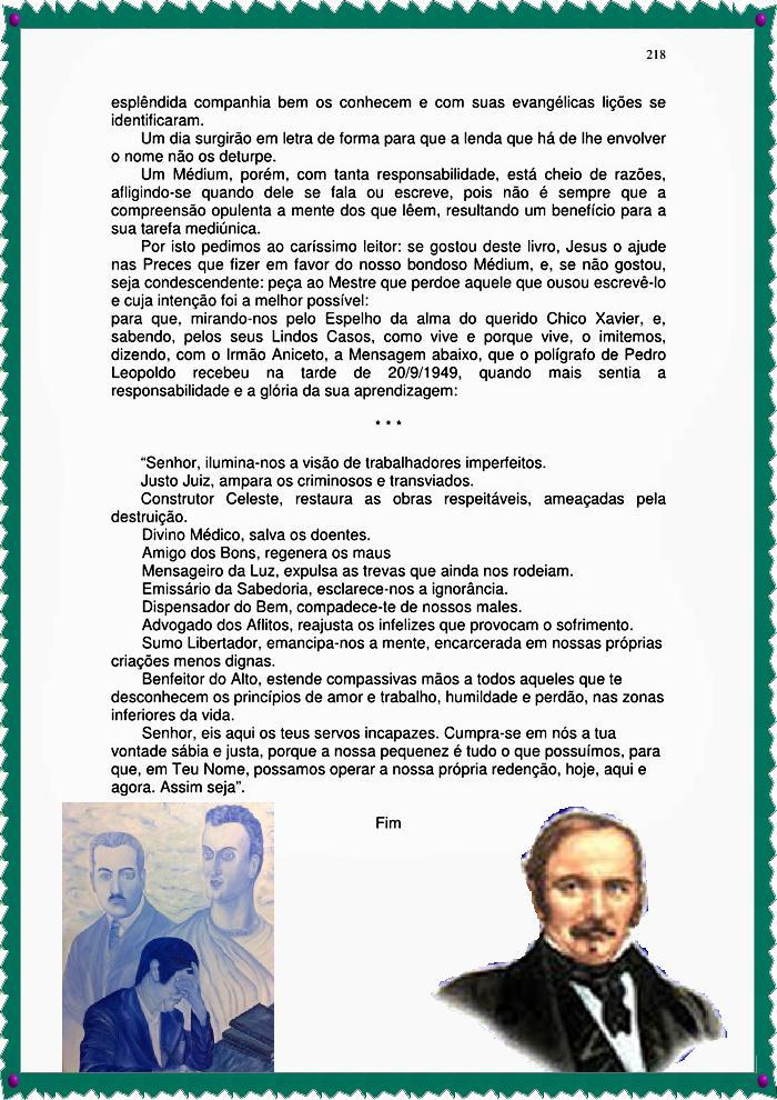 LINDAS HISTORIAS DE CHICO XAVIER 195  A Voz Do Desmanipulador